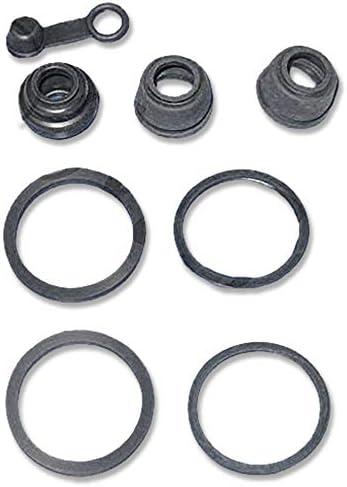 Pro Braking PBR7722-TRD-BLA Rear Braided Brake Line Transparent Red Hose /& Stainless Black Banjos