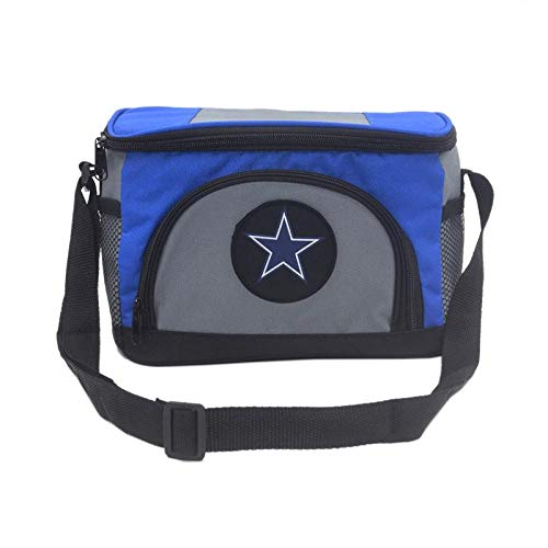 Unisex NFL Embroidered Insulated Lunch Bag Cooler - Pick Dallas Cowboys