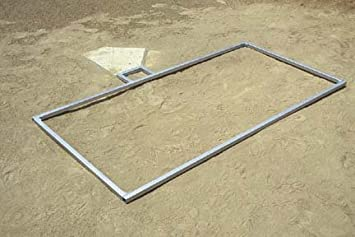 Batters Box Template | Amazon Com 3 X 7 Softball Batter S Box Template Baseball Field