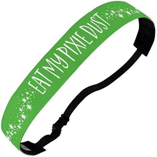 Gone For a Run Running Julibands No-Slip Headbands | Eat My Pixie Dust | Light Green