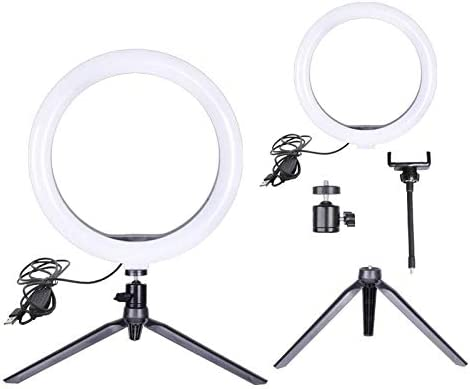 10 inch Led Ring Light with Tripod Stand for Live Stream Makeup YouTube Video