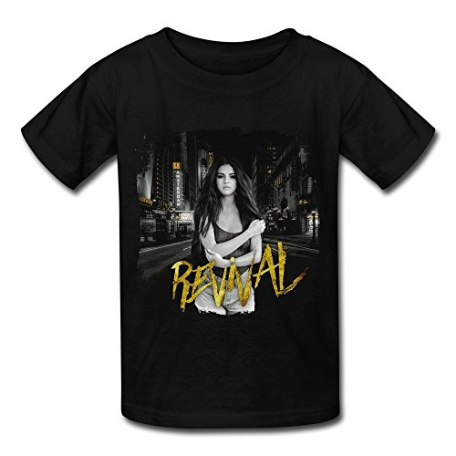 Losnger Kid's Selena Gomez Revival New Album T Shirt - New Selenas Album