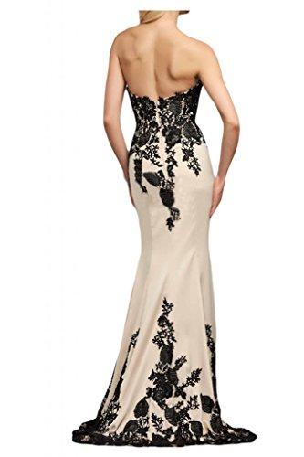 Toscane mariée pages mermaid abendmode brautkleider long en satin avec dentelle motif soir de suspendre une robe de mariée