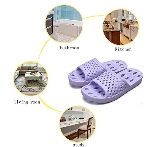 Slip Bath Light Slippers 01 Soft for Slippers Purple Men Women Slippers Sandals Shoes Shower Gym Non Quick Drying wIxA1vq