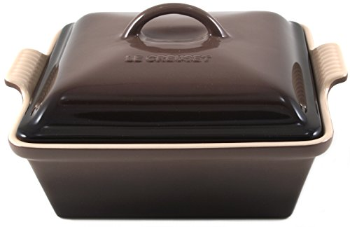 Le Creuset Covered Square Casserole, Truffle, 2.5 qt