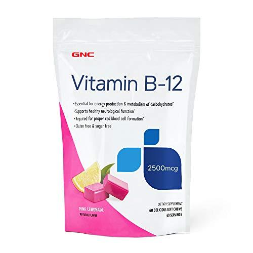 GNC Vitamin B-12 Soft Chews - Pink - Gnc Vitamins B-12
