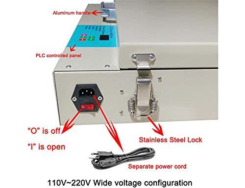 Tabletop Precise Screen Printing Exposure Machine 20 x 24 80W LED UV Exposure Unit