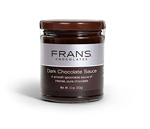 - Fran's Dark Chocolate Sauce, 10 oz