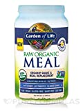 RAW Meal Organic Shake, Potassium 70 mg & Meal Replacement ( 33.5 oz ) Garden of Life Raw Organic Meal Vanilla