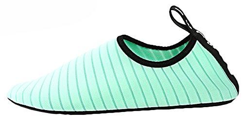 Surfschuhe Badeschuhe Yoga Strand Schwimmschuhe Fahren Unisex Strandschuhe Grün Sommer Schnell Gehen Aquaschuhe Bootfahren Damen Bevalsa Park See Garten Trocknend Wasserschuhe Herren Schuhe vA7Ffq