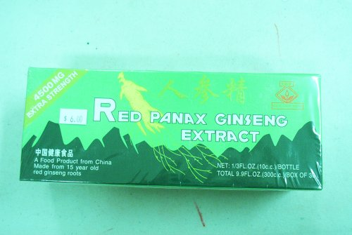 red panax ginseng extract 4500 mg - 1