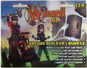 Wizard 101 Arcane Builder's Bundle Prepaid Game Card - Buy