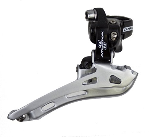 Campagnolo Athena front derailleur top-pull cable routing clamp-on mount, 1-1/4