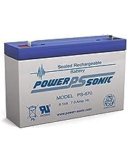 Power Sonic 6V 7Amp Sla Battery