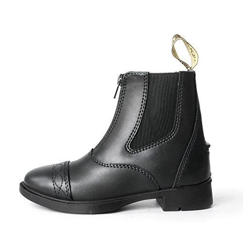 Price comparison product image Brogini Unisex Childrens Tivoli Piccino Zipped Boots (13.5 Child US) (Black)