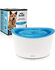 Dogit Fresh & Clear Drinking Fountain, Elevated Dog Water Dispenser, Original (Packaging May Vary)