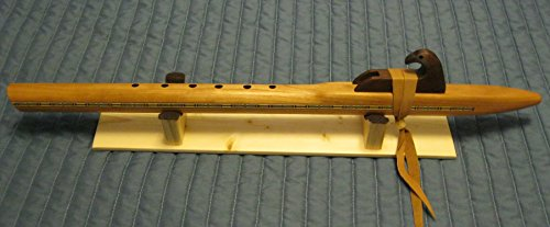 Native American Flute - Cherry - key of F - Hand Made - With Flute Stand - awesome flute