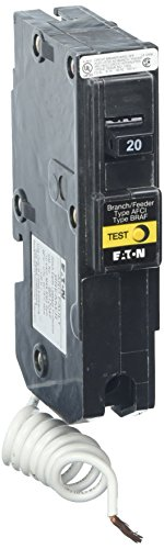 Fault Breaker (Eaton Corporation Br120Af Single Pole Arc Fault Circuit Breaker, 20-Amp)