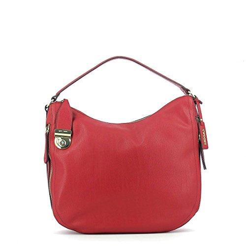 Twin Shoulder Hobo Large Red Bag Set rx78qr