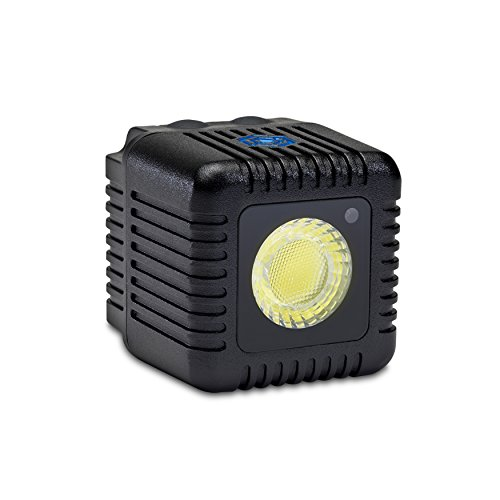 Lume Cube - LED Light for Photo, Video, and Content Creation - 1,500 Lumens - Portable, Durable, Waterproof (Single Pack - Black)