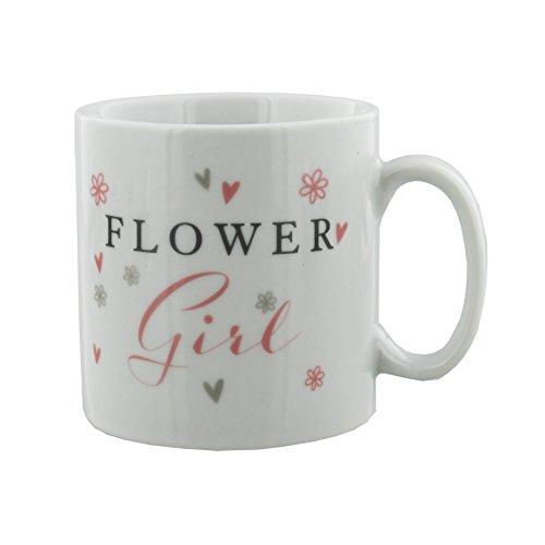 Oaktree Gifts Flower Girl Wedding Day Gift Mug in a - Flower Girl Mug