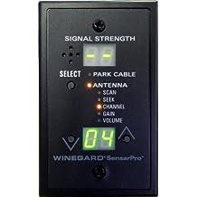 Winegard RFL-332 SensarPro Black TV Signal Strength Meter