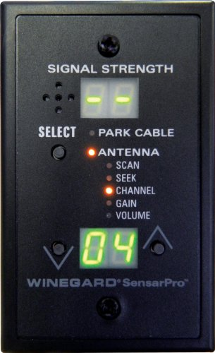 Winegard 18-99118 Company RFL-332 Sensar Pro Signal Meter Black
