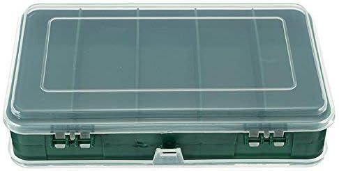 両面プラスチック収納ボックスケーススクリュー部品コンポーネントコンテナ品揃えオーガナイザー