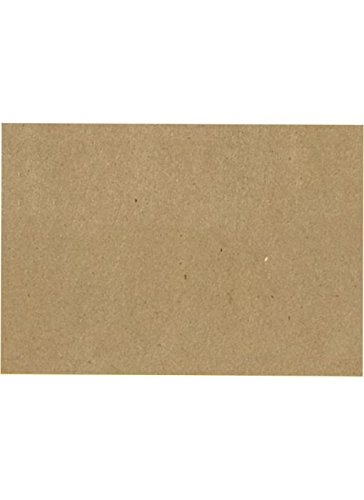 A7 Flat Card (5 1/8 x 7) - 100% Recycled - Grocery Bag Brown (250 Qty.)