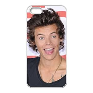 iPhone 5 5s Cell Phone Case White Harry Styles bhbp