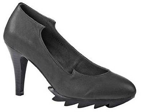 Best Connections Pumps - Zapatos de vestir de cuero para mujer negro - negro