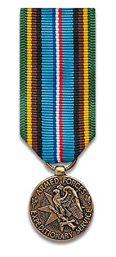 Armed Forces Expeditionary mini-Medal, bronze finish ()