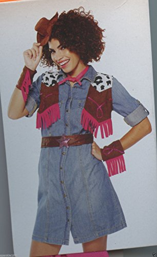 Cowgirl Character Kit Adult Costume Accessories OSFM -