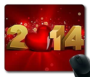 Rectangle mouse pad , The End of 2014