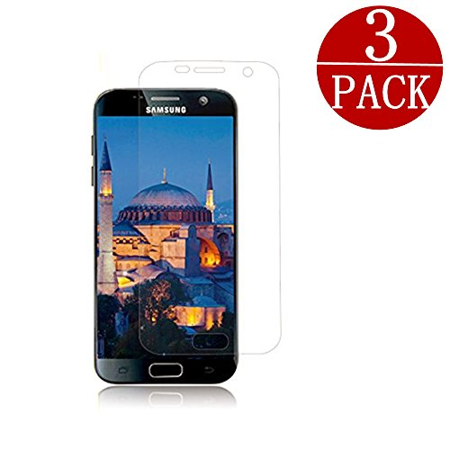 Price comparison product image [3Pack] Samsung Galaxy S7 PET Screen Protector, EcoPestuGo [No Bubble][Easy to Install] PET HD Screen Protector Film For Galaxy S7