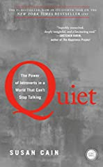 The book that started the Quiet RevolutionAt least one-third of the people we know are introverts. They are the ones who prefer listening to speaking; who innovate and create but dislike self-promotion; who favor working on their own over wor...