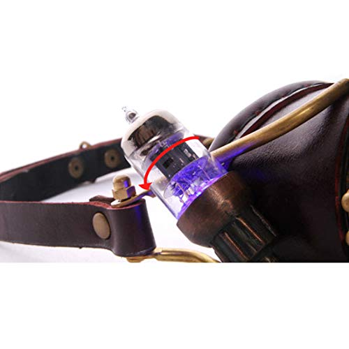 Color et WEATLY Couleur 3 Masque Brown Brown de LED Couleur 2 lentilles de Un avec TBpTxq7
