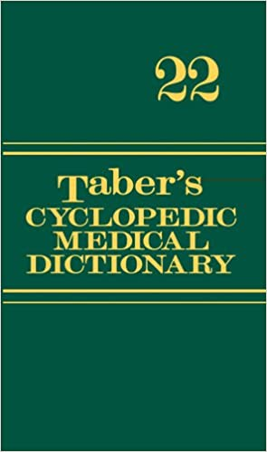 Tabers Cyclopedic Medical Dictionary Thumb Indexed Version