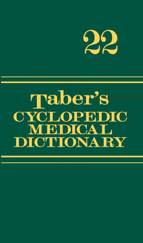 Taber's Cyclopedic Med.Dict,Indexed