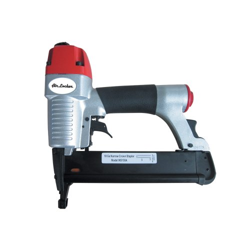 AIR LOCKER NS150A 18 Gauge 1/2 Inch to 1-5/8 Inch Long, 1/4 Inch Narrow Crown L Wire Stapler