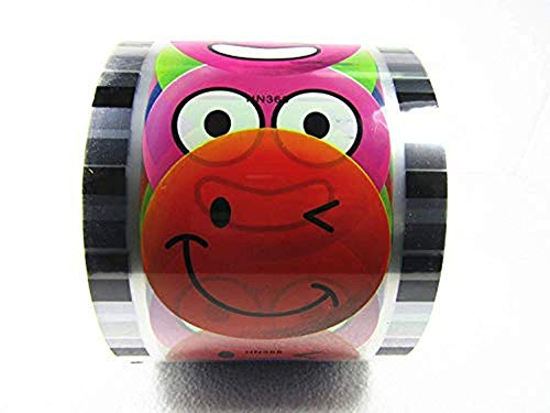 Milk Sealing Film Tea Cup Sealer Smiling Face/Clear Printing Healthy Material 3000 Cups 95 mm (3.74'') (Cup Sealer Film)