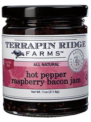 Terrapin Ridge Farms Hot Pepper Berry Bacon Jam 10.5 OZ (Pack of 1)