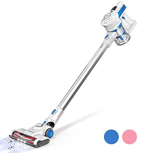 Cordless Vacuum, JASHEN Powerful Stick Vacuum Cleaner, 2 in 1 Lightweight Handheld Vacuum