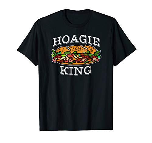 Hoagie King T Shirt Sandwich Lover Shirt