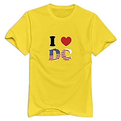 I LOVE DC Religion Casual T Shirts For Adult