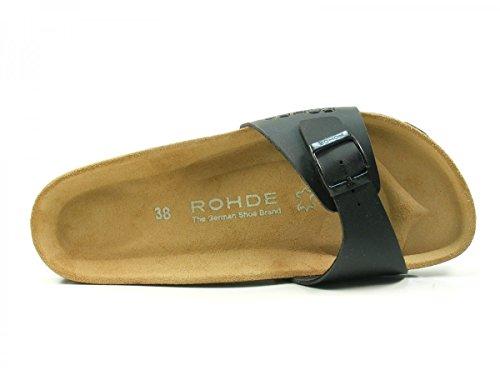 Rohde Damen Alba 5630 38 EU (5 UK) Blau Schwarz (Schwarz)