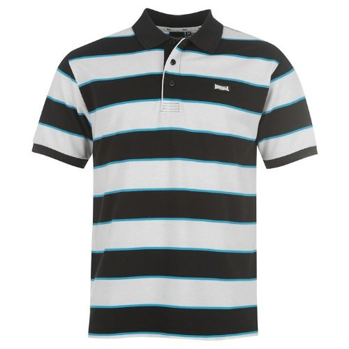Lonsdale - Camiseta Deportiva - para Hombre Noir/Blanc/Bleu Small ...