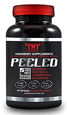 Peeled Thermogenic Fat Burner and Diet Pill for Men and Women. Boost Metabolism, Suppress Appetite, Enhance Energy, Supports Mental Clarity,Improves Mood.Garcinia Cambogia, L-Carnitine,B12