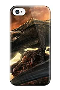 High Quality PqLHKdi12552BMOUE Taking A Dinosaur Picture Tpu Case For Iphone 4/4s by lolosakes