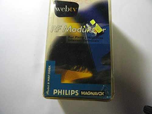 WebTV RF Modulator for Philips Magnavox Internet Terminals
